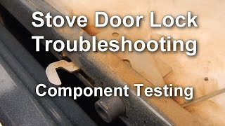 How to Troubleshoot the Door Lock on your Stove / Range
