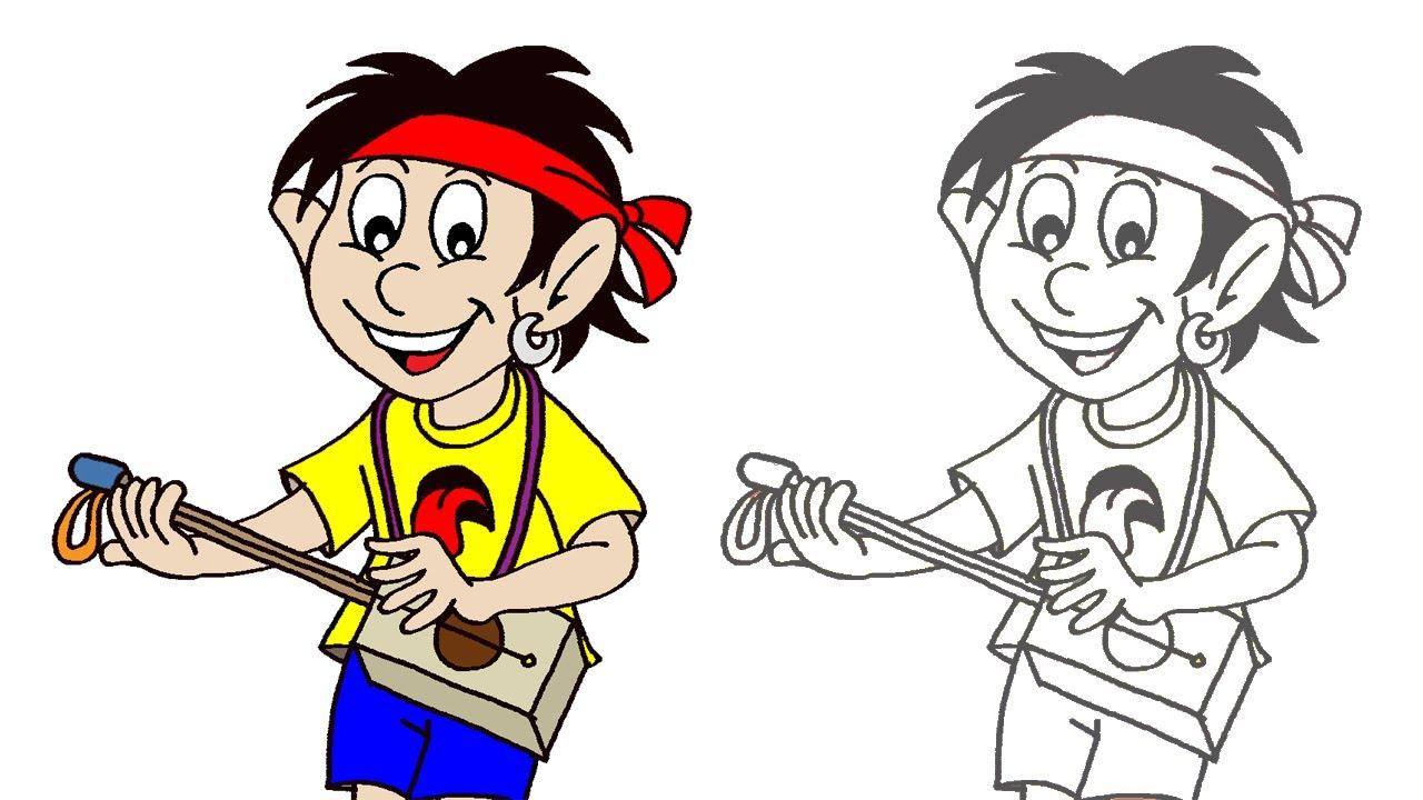 Desenhando a Galera TUBKID - Juquinha Linguinha - Clip Infantil