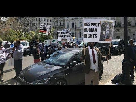 Why Was Uhuru Jeered In The UK? Why Did Diasporans Ignore Handshake?