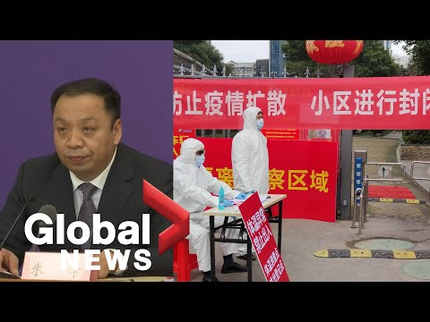 Global News Coronavirus outbreak: China reports significant drop in daily cases.