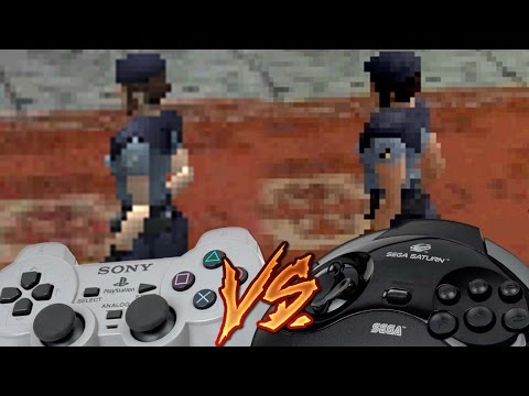 PlayStation Vs Sega Saturn - Resident Evil
