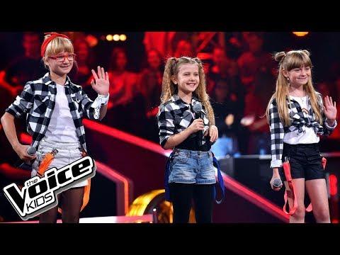 """Kotlarska, Janik, Zawadzka """"Girlfriend"""" – Bitwy – The Voice Kids Poland"""