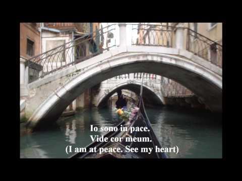 Vide Cor Meum - libretto in Italian / Latin with translation.