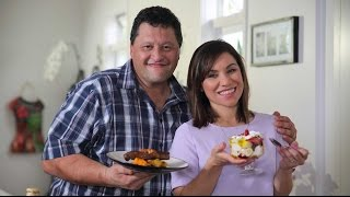 Youtube thumbnail for Grilled Steak and Roast Veggie Salad and a Funky Trifle by Rex Morgan