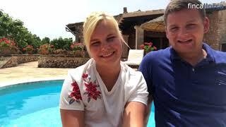 Video Pia und Johannes auf der Finca Los Geranios
