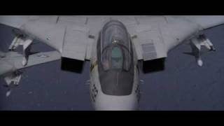 "F 14 Tomcat Scenes From ""The Final Countdown"" HD Part3"
