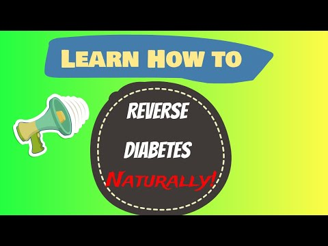 Video Learn how to cure diabetes naturally reverse diabetes today - 2017 Best method