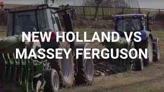New Holland Vs Massey Ferguson Tractor Test