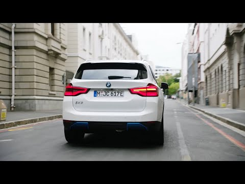 New BMW iX3 (2021) - CRAZY ELECTRIC SOUND while driving, exterior, interior & RANGE