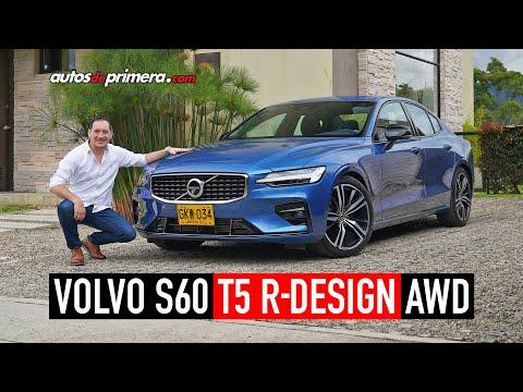Volvo S60 T5 R-Design AWD 🔥 SOBRESALIENTE EN TODO 🔥 Prueba - Reseña