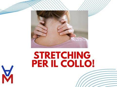 Terribile dolore ai muscoli del collo si