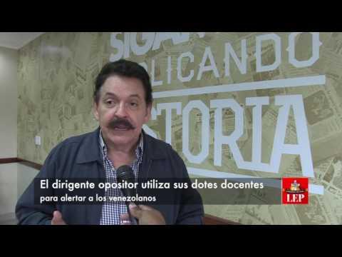 'Venezuela ya es un problema continental', Gustavo Sosa Izaguirre