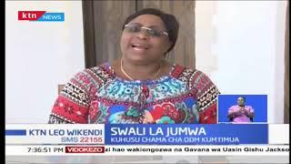 Aisha Jumwa azungumzia swala la ODM kumtimua