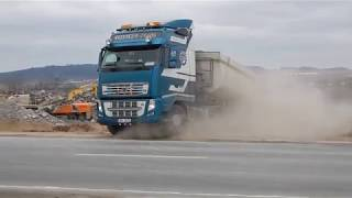 Volvo FH 540 in action