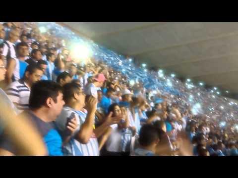"""""""Alma Celeste dando show"""" Barra: Alma Celeste • Club: Paysandu"""
