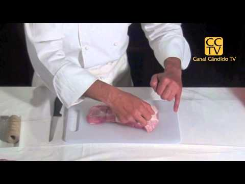 Bridar o atar carne