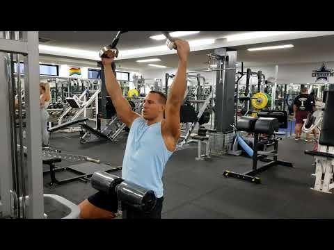 Neutral Wide Grip Lat Pulldowns