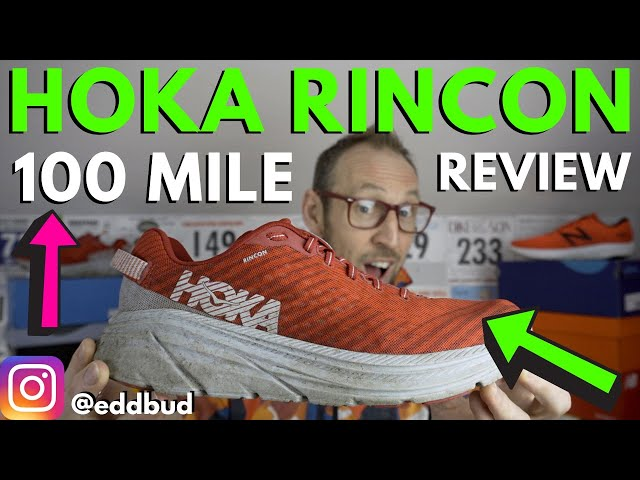 Hoka One One Rincon Full Review after 100 miles   eddbud