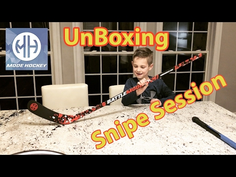 Kids HocKey New Stick Unboxing Prank Mode Hockey BattleMode