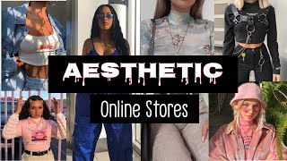 10 Aesthetic Online Stores\ Where I Buy My Aesthetic Clothing