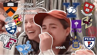 18 Colleges. My Decision Reactions 2019 +an *emotional* IVY DAY!!