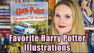 Favorite Harry Potter Illustrations - Chamber Of Secrets