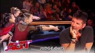 "GForce: Girls Group CHALLENGE Simon With New Song ""Simon Says"" | America's Got Talent 2019"