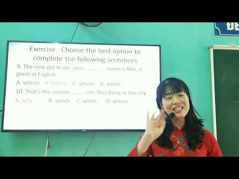 Chuyên đề- Mệnh đề quan hệ - Cô giáo Nguyễn Nông Hoa Mỹ - Trường PTDTNT THCS huyện Hàm Yên