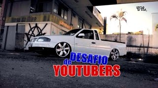 SAVEIRO G4 ARO18 NA FIXA - DESAFIO DE YOUTUBERS Estilo de Vida Pesado