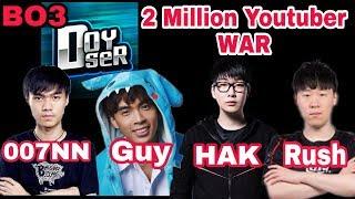 《Sephera》2,000,000 Youtuber War! 1/2 FEAT:《007, Doyser, Guy, HAK, Rush, Nt》