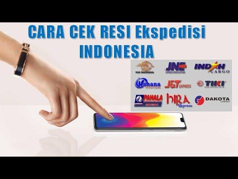 Cara Cek Resi Ekpedisi Di Indonesia (by grosir sandal jepit)
