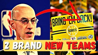 The NBA Is FINALLY Adding 2 BRAND NEW Teams In League Expansion! Because of Covid?
