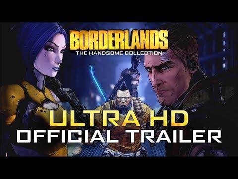 Ultra HD Official Trailer - International de Borderlands : The Handsome Collection