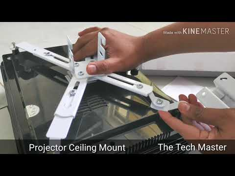 3 feet Ceiling Mounted Projector Stand