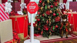 DIY Christmas Detour Signs - Home & Family
