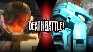 Meta VS Carolina   DEATH BATTLE! (Red VS Blue)
