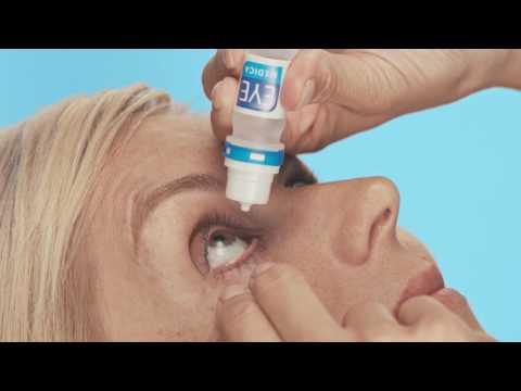 So wenden Sie Augentropfen richtig an: Das Anwendungsvideo von EyeMedica®