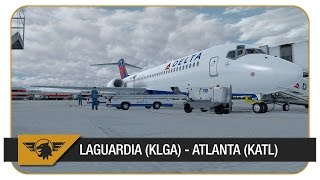 [P3D] TFDi 717 FIRST FLIGHT! LaGuardia (KLGA) - Atlanta (KATL) | VATSIM | DAL781 | Delta Airlines