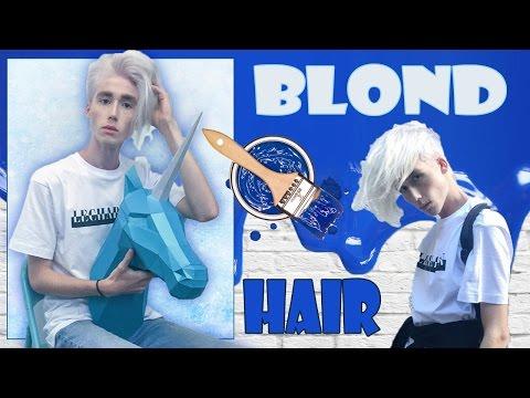 Как покрасить Волосы в БЕЛЫЙ 🖌/ BLOND HAIR 💇🏼/ Stas Mileev