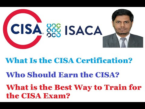CISA   Certified Information Systems Auditor   Overview of CISA   CISA Exam   ISACA CISA Certificate