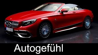 Mercedes-Maybach S650 Cabriolet World Premiere Exterior/Interior preview - Autogefühl