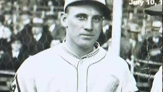 Carl Hubbell Strikesout 5 Hall Of Famers To Be In 1934 All Star Game
