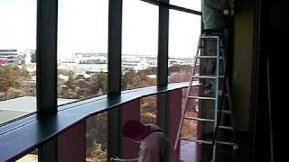 チタンネクストジャパン光触媒施工事例温浴施設喫煙コーナー