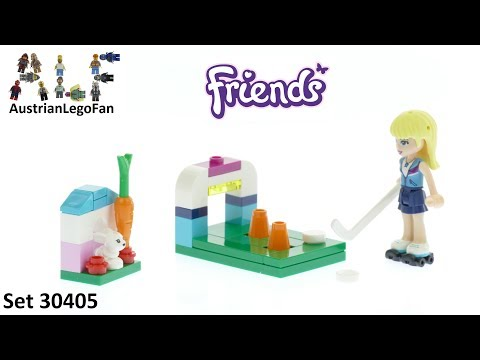 Vidéo LEGO Friends 30405 : Stephanie's Hockey Practice (Polybag)