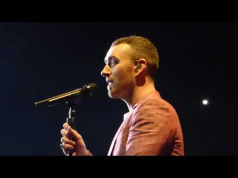 Sam Smith 'Lay Me Down'  live - Birmingham 04.04.18 HD (видео)