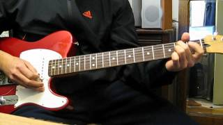 The Charlatans - Sonic (guitar cover)