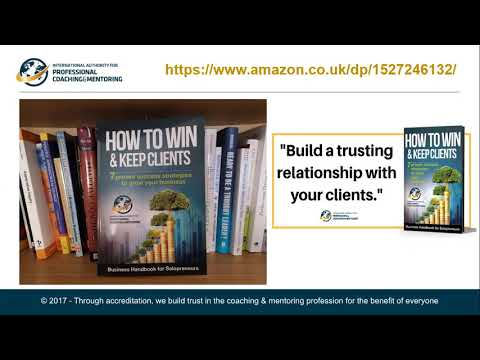 How to Win & Keep Clients Life Coach Directory & IAPC&M - YouTube