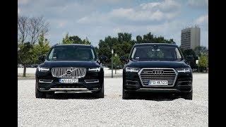 Новая Audi Q7 против нового поколения Volvo XC90