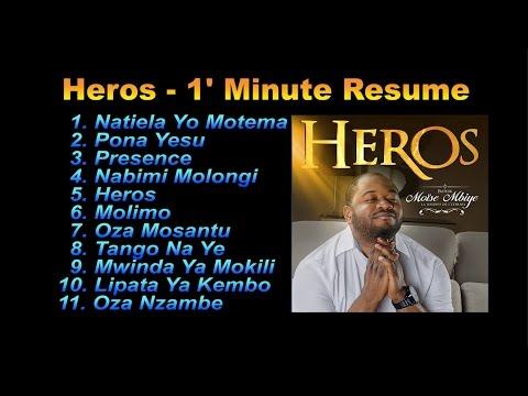 Moise Mbiye – Album Heros Mix