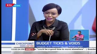 Budget Ticks & Voids | CS Rotich read Biggest budget for Kenya ever | Part 2